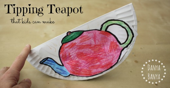 Tipping Teapot that kids can make