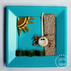 Incy Wincy (Itsy Bitsy) Spider Healthy Cheese Snack