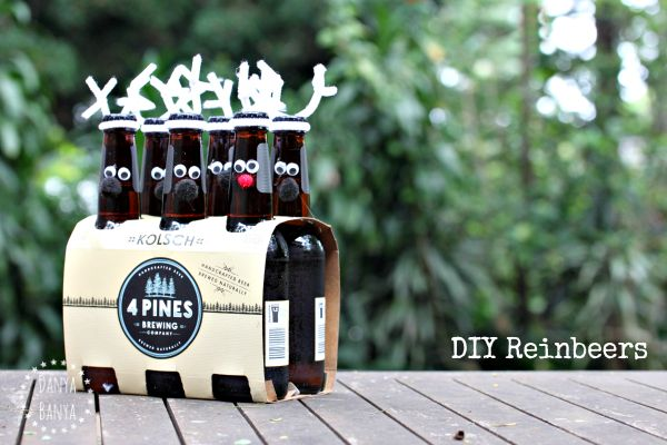 Christmas Gift Idea DIY Reinbeers