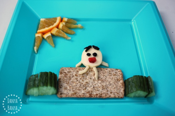 Healthy Cheese Humpty Dumpty Snack