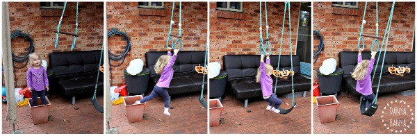 Swinging around