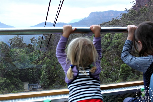 Approaching the lower terminal on the Scenic Cableway