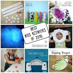 Best Kids Activities of 2015 on Danya Banya