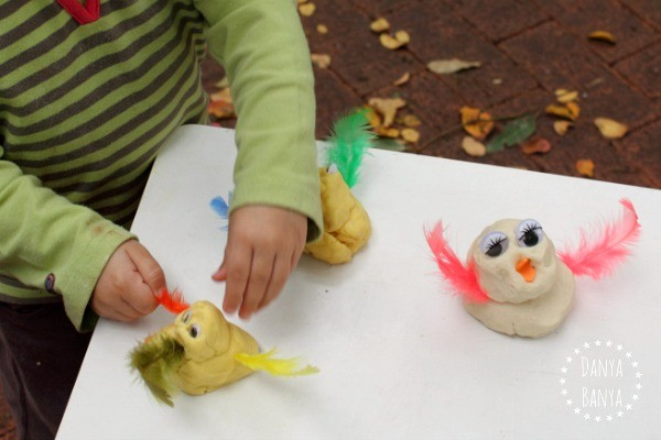 Adding feathers to the little ducks