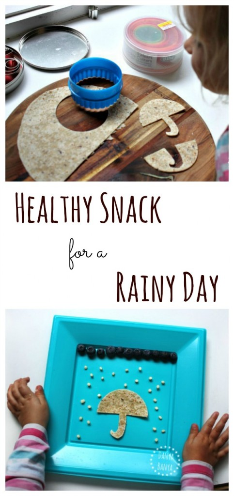 Healthy snack for a rainy day