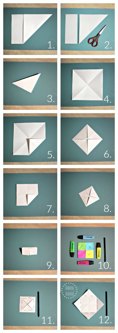 How to make a chatterbox for kids