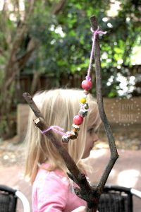 Jingle stick - homemade percussion instrument for kids  bells  music