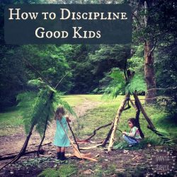 Our Warnings System how to discipline good kids gently