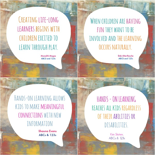 The importance of hands-on learning through play
