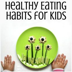 Tips to encourage healthy eating habits for kids