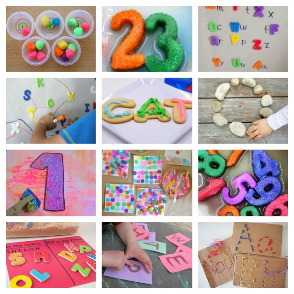 ABCs and 123s ebook, with hands-on, play-based literacy and math activities for kids