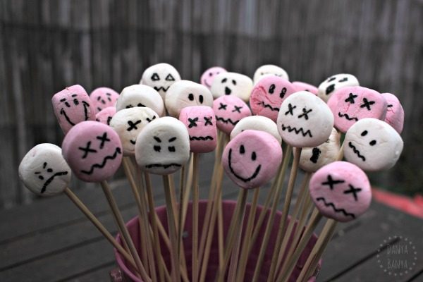 Spooky Themed Marshmallow Treats