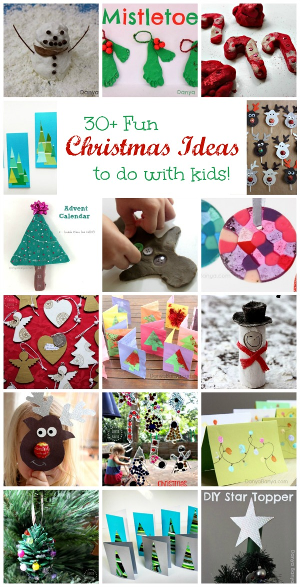 Over 30 fun Christmas ideas to do with kids