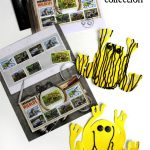 Collect, craft & learn: endangered wildlife stamps (including the southern corroboree frog)