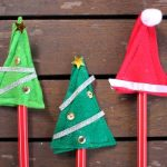 Christmas Pencil Toppers
