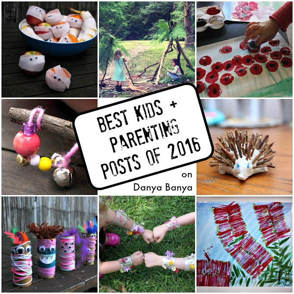 Best kids and parenting posts of 2016 on Danya Banya