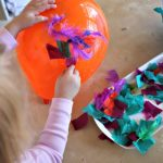 Balloon decorating: process art for kids