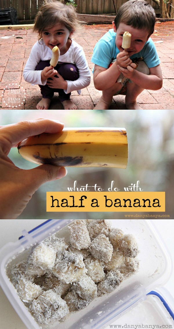 What to do with half a banana Three easy, healthy and delicious ideas