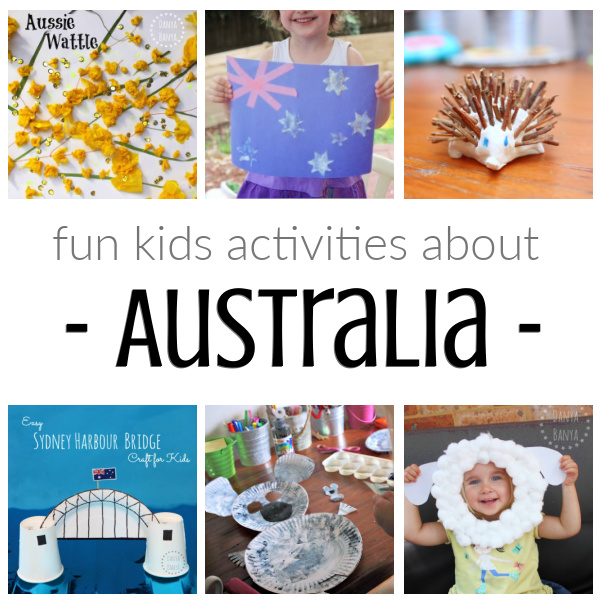 Fun kids activities about Australia (square)