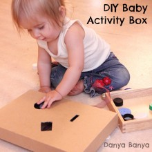 DIY Baby Activity Box