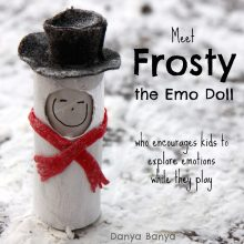 Frosty the Snowman Emo Doll