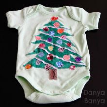 Christmas Onesie (that even beginner sewers can make)