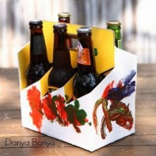 Gift Idea: Painted Beer Holder