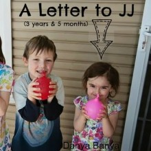 A Letter to JJ (3 years, 5 months)