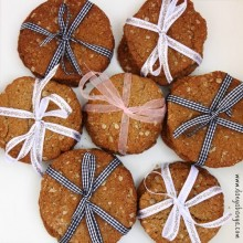 Wholemeal Anzac Biscuits for Bake Sales