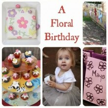 A Floral 1st Birthday
