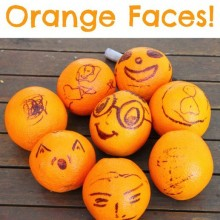 Orange Faces