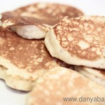 Recipe for Wholemeal Banana Pancakes: healthy, easy and yummy!