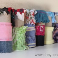 More Toilet Paper Roll Dolls