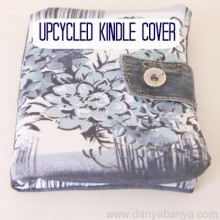 Upcycled Kindle Cover