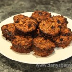 Carrot, Sultana and Oat Muffins Recipe: Muesli Bar Cakes