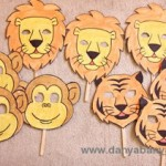 How to make zoo animal face masks