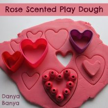 Rose Scented Play Dough