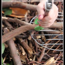 Make a Sensory Bin with Sticks {part of the 40 Days of Sensory Bin Fillers series}