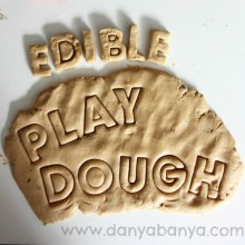 Edible Playdough Recipe