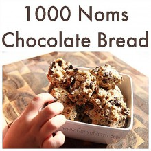 Healthy Snacks for Kids: Chocolate Bread