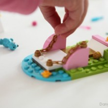 LEGO Juniors bricks are especially designed to be achievable for little hands