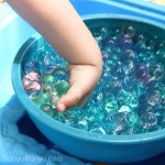 Water beads for summer sensory play