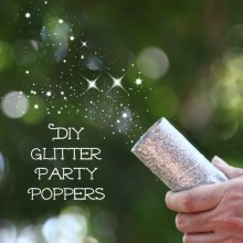 DIY Glitter Party Poppers!