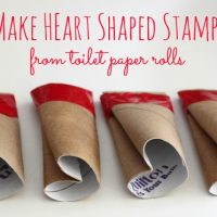 DIY Heart Shape Stamps