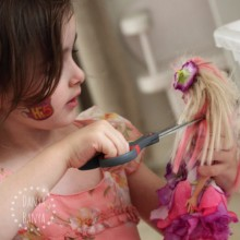 Should I let my daughter cut her doll's hair? I think so, and here's why.