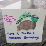 Teenage Mutant Ninja Turtle birthday card