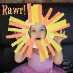Easy Lion Mask Craft for Toddlers
