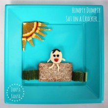 Humpty Dumpty Healthy Snack for Kids
