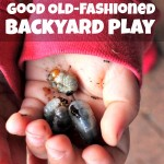 Good Old-Fashioned Backyard Play