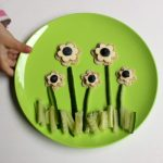 Cheese Flowers ~ a healthy snack that kids can help make!